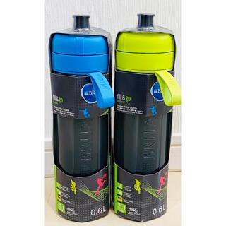 ブリタ浄水ボトル フィルター2個セット fill&go Active  当日発送(水筒)