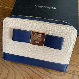 マリークワント(MARY QUANT)のMARYQUANTマリークワント二つ折り財布⭐︎美品箱付きマリクワ(財布)