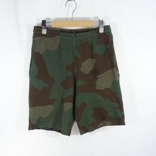 OFF-WHITE - OFF-WHITE 19ss CAMO SWEAT SHORTS オフホワイト