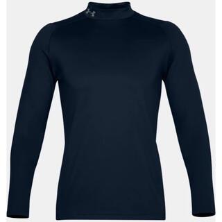 アンダーアーマー(UNDER ARMOUR)のUNDER ARMOUR アンダーアーマー コールドギアインナーシャツ紺メンズM(Tシャツ/カットソー(七分/長袖))