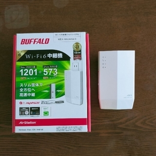 バッファロー(Buffalo)のbuffalo WiFi中継機 WEX-1800AX4 バッファロー(その他)