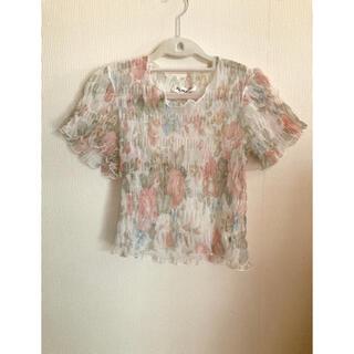 ロキエ(Lochie)のvintage blouse (シャツ/ブラウス(半袖/袖なし))