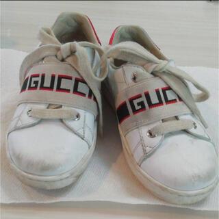 Gucci - GUCCI チルドレン スニーカー 24