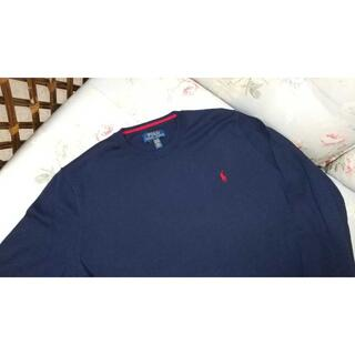 ラルフローレン(Ralph Lauren)の新品☆ラルフローレン 薄手 セーター 紺 170(ニット)