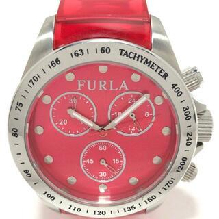 フルラ(Furla)のフルラ 腕時計 - 6352M レディース レッド(腕時計)