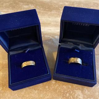 ジュエリーツツミ(JEWELRY TSUTSUMI)の18K メンズリング2点セット ジュエリーツツミ21g(リング(指輪))