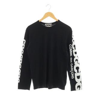 コムデギャルソン(COMME des GARCONS)のコムデギャルソン COMME des GARCONS CDG Tシャツ M 黒(Tシャツ/カットソー(七分/長袖))