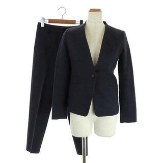 プラステ(PLST)のプラステ スーツ セットアップ スラブストレッチパンツ ノーカラージャケット(スーツ)