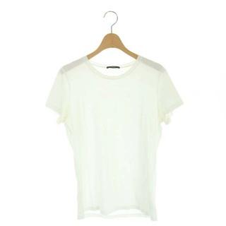 セオリー(theory)のセオリー Tシャツ カットソー 半袖 M 白 ホワイト /DF ■OS(Tシャツ(半袖/袖なし))