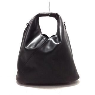 エムエムシックス(MM6)のエムエムシックス ハンドバッグ美品  黒(ハンドバッグ)
