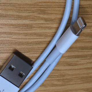 アイフォーン(iPhone)のiPhone 充電器 3本充電ケーブル コード lightning cable(その他)