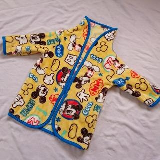 ディズニー(Disney)のミッキー ミッキーマウス ディズニー ベスト スリーパー 袖つき(毛布)