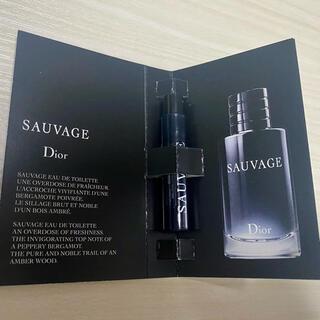 ディオール(Dior)のDior sauvage ソバージュ 1ml(香水(男性用))
