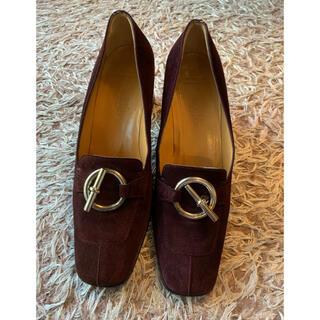 エルメス(Hermes)のエルメススエード靴(ローファー/革靴)
