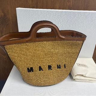 マルニ(Marni)のMARNI かごバッグ(かごバッグ/ストローバッグ)