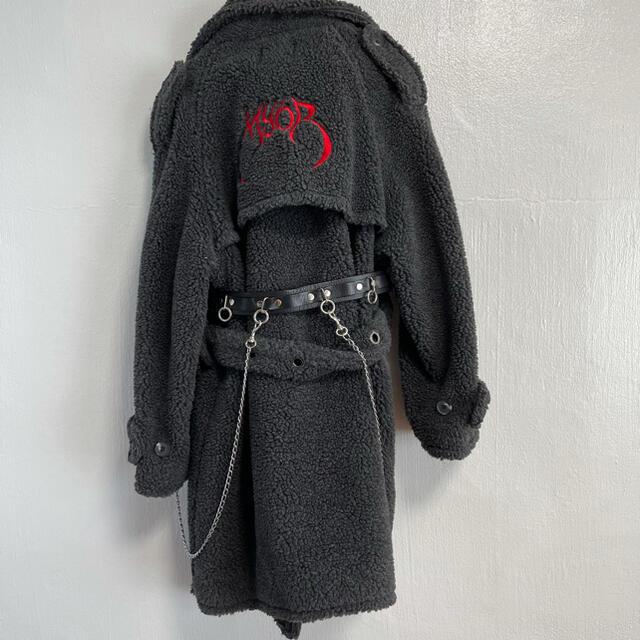 AMBUSH(アンブッシュ)のm.y.o.b nyc Embroidery Logo Boa Coat レディースのジャケット/アウター(ロングコート)の商品写真