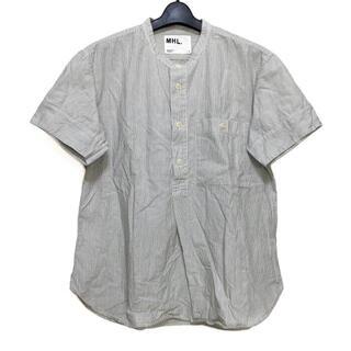 マーガレットハウエル(MARGARET HOWELL)のマーガレットハウエル 半袖シャツ サイズL(シャツ)