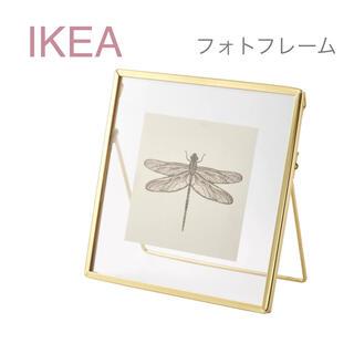 IKEA - 【新品】IKEA イケア フォトフレーム 写真立て ゴールドカラー(レルボダ小)