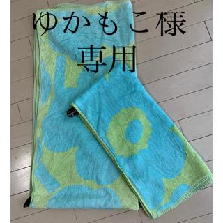 マリメッコ(marimekko)のゆかもこ様専用 北欧マリメッコ バスタオル セット(タオル/バス用品)
