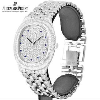 オーデマピゲ(AUDEMARS PIGUET)のオーデマピゲ K18WG メンズ クォーツ ハイブランド 腕時計(腕時計(アナログ))