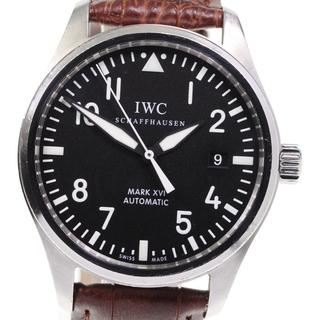 インターナショナルウォッチカンパニー(IWC)のIWC パイロットウォッチ マークXVII IW325501 メンズ 【中古】(腕時計(アナログ))