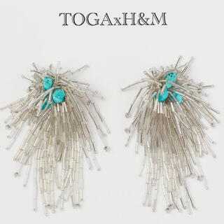 トーガ(TOGA)のTOGAxH&Mラッパビーズイヤリング(イヤリング)