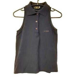 フェンディ(FENDI)のフェンディ ノースリーブポロシャツ XS -(ポロシャツ)