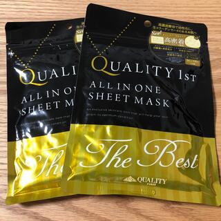 QUALITY FIRST - 【未開封】QUALITY 1ST オールインワンシートマスク(3枚入)2袋