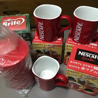 ネスレ(Nestle)のネスカフェ エクセラ赤マグ ネスレ ブライト つめかえポット(グラス/カップ)