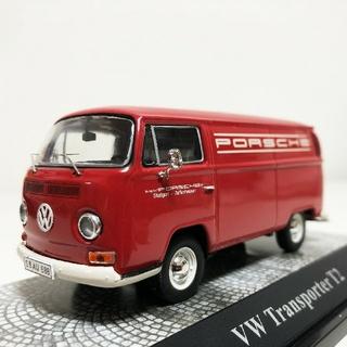 フォルクスワーゲン(Volkswagen)のVWフォルクスワーゲン T2a ボックスバン Porscheポルシェ 1/43(ミニカー)