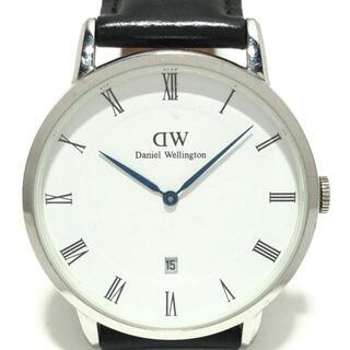 ダニエルウェリントン(Daniel Wellington)のダニエルウェリントン 腕時計 - B38R1 白(その他)