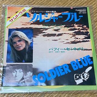 バフィー・セントメリー/ソルジャーブルー・あなたが去るまで EPレコード 美品(映画音楽)