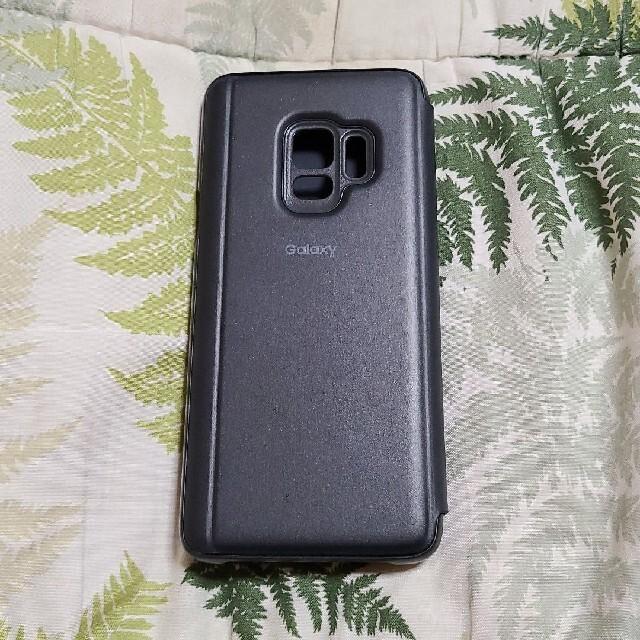 SAMSUNG(サムスン)のGALAXY S9 CLEAR VIEW STANDING COVER スマホ/家電/カメラのスマホアクセサリー(Androidケース)の商品写真