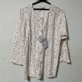 ワコール(Wacoal)の【ワコール パジャマ】やわらかな印象の花柄 ロング袖・ロングパンツ(パジャマ)