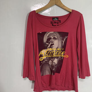 HYSTERIC GLAMOUR - hysteric glamour ロンT ピンク S-M 品番453