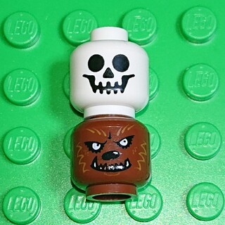 レゴ(Lego)の【新品】LEGO 頭ヘッドパーツ ハロウィン《B》レゴ ミニフィグアイテム(その他)