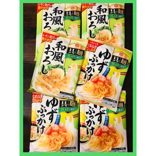 キッコーマン(キッコーマン)の6袋🌈キッコーマン 具麺 12食分 ゆずぶっかけ 和風おろし(レトルト食品)