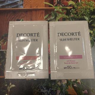 COSME DECORTE - コスメデコルテ サンシェルター トーンアップCC10