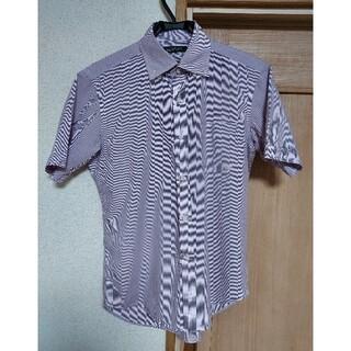 マッキントッシュフィロソフィー(MACKINTOSH PHILOSOPHY)のマッキントッシュフィロソフィー ストライプ柄 シャツ 40 ワイシャツ(シャツ)