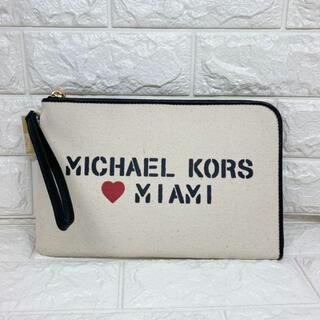 マイケルコース(Michael Kors)の【新作1】マイケルコース Michael Medium Canvas Pouch(ポーチ)
