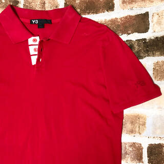 ワイスリー(Y-3)のY-3 adidas  YOHJI YAMAMOTO ワイスリー 半袖 L 赤(Tシャツ/カットソー(半袖/袖なし))