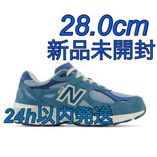 """ニューバランス(New Balance)のLEVI'S × NEW BALANCE M990LI3 """"BLUE"""" 28.0(スニーカー)"""