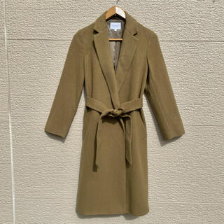 ビューティアンドユースユナイテッドアローズ(BEAUTY&YOUTH UNITED ARROWS)の美品 ユナイテッドアローズ コート  ガウンコート キャメル S(ロングコート)