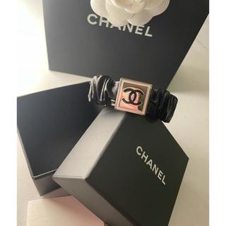 シャネル(CHANEL)のCHANEL2021w新作ヘアゴム、レザーブレス❤️新品未使用(ヘアゴム/シュシュ)
