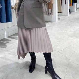 ルシェルブルー(LE CIEL BLEU)の【8割引】 le ciel bleu / flat pleated skirt(ロングスカート)