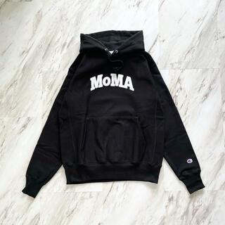 モマ(MOMA)のMoMA Champion Hoodie モマ チャンピオン US(パーカー)