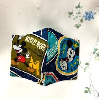 インナーマスク ミッキーマウス 未就学児サイズ ハンドメイド(外出用品)