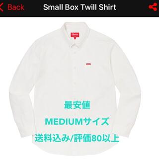 シュプリーム(Supreme)の【最安値】Supreme Small Box Twill Shirt White(シャツ)