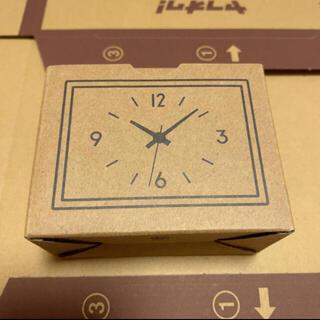 ムジルシリョウヒン(MUJI (無印良品))の最新モデル 無印良品 駅の時計 ミニ 型番 MJ-WCJSM2(置時計)