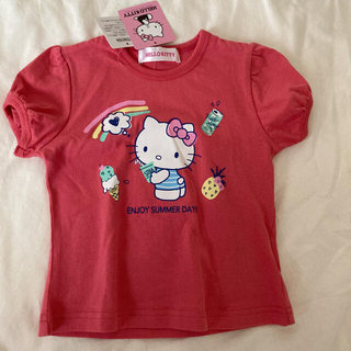 サンリオ(サンリオ)の新品♡ハローキティ 半袖Tシャツ 2枚セット 80 女の子(Tシャツ)
